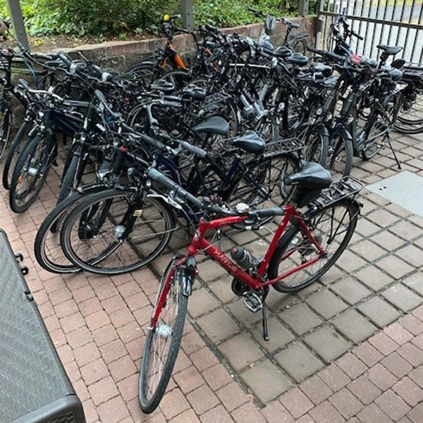 Bicycle parking Kreuzwertheim